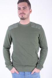 Bluza Bumbac Selected Bruce O-neck Thyme