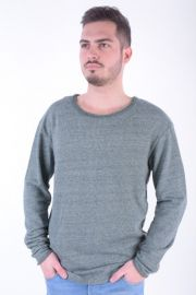 Bluza Jack& Jones Jorrebound Sweat Crew Neck Thyme Melange