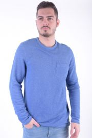 Bluza Jack& Jones Jjvferry Sweat Crew Neck Monaco Blue
