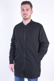 Geaca Lunga Bomber Selected Ben Coat Negru