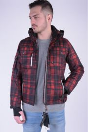 Geaca Sky Jack&Jones Seoul 2 Layer Red Light