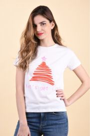 Tricou Noisy May Alpine Snow White/Lets Get