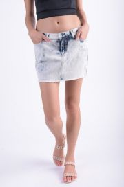 Fusta Scurta Blugi Only Carrie Low Denim