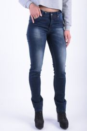 Blugi Dama Vero Moda Alshy Straight Dark Blue Denim  Dark Blue Denim